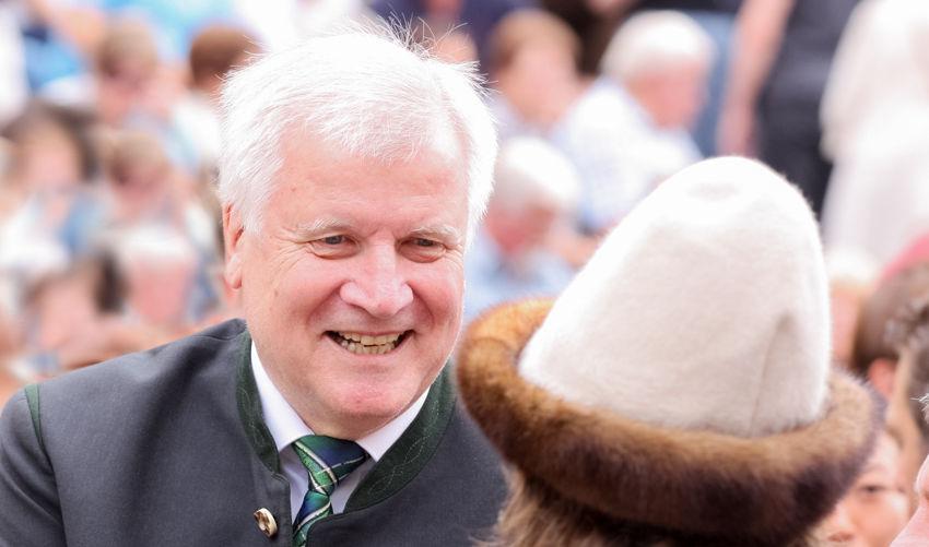 Horst Seehofer, Vorsitzender der CSU
