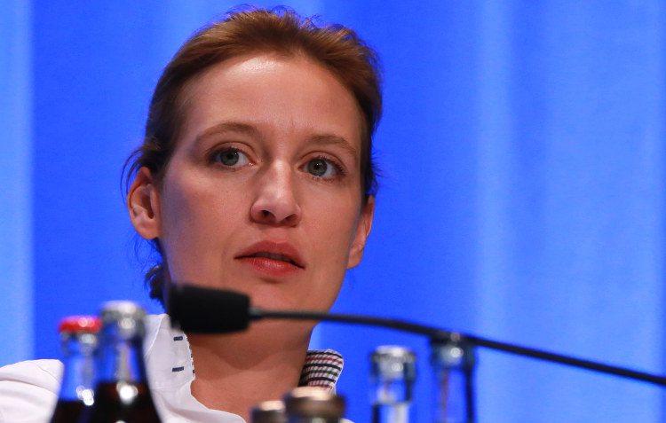 Alice Weidel, Spitzenkandidatin der AfD bei der Bundestagswahl