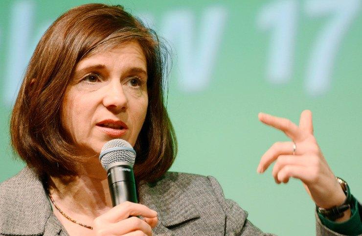 Katrin Göring-Eckardt, Kandidatin der Grünen bei der Bundestagswahl