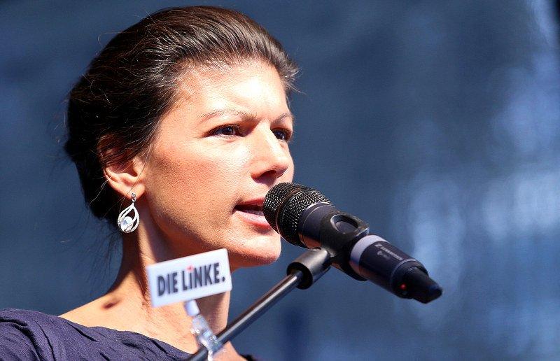 Kandidatin der Linken für die Bundestagswahl