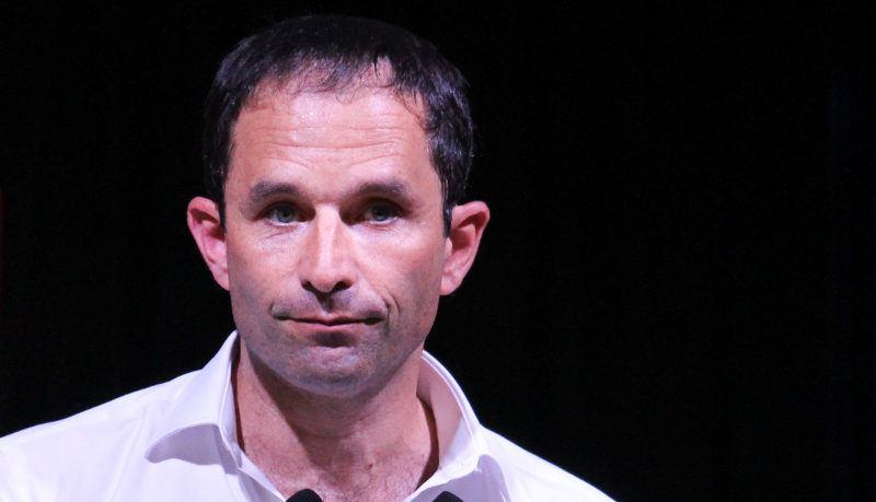 Benoît Hamon, Kandidat der Sozialisten