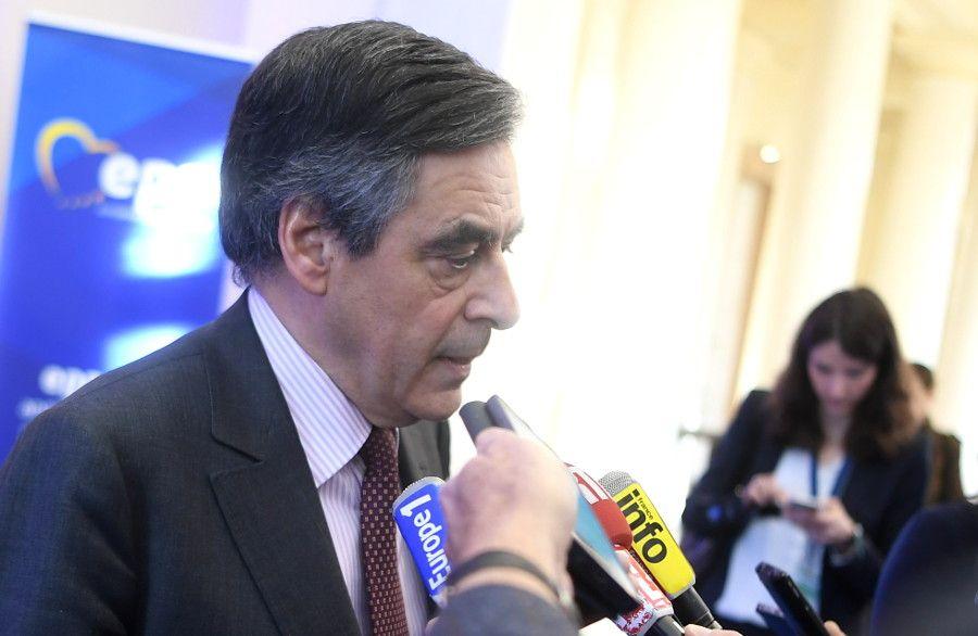 Fillon musste Emmanuel Macron den Favoritenplatz bei der französischen Präsidentschaftswahl abgeben.