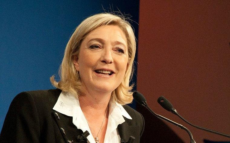 Marine Le Pen als mögliche Präsidentin Frankreichs