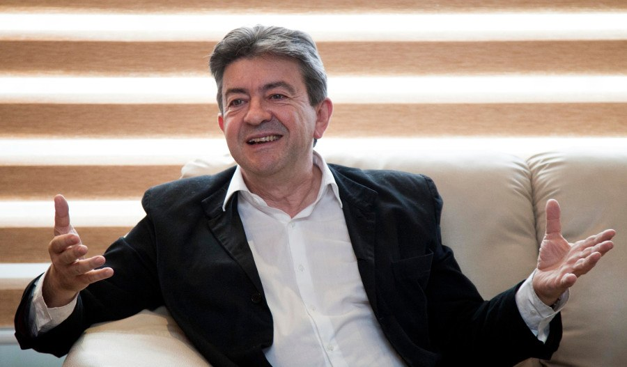 Jean-Luc Mélenchon, auch 2017 KAndidat zur Präsidentenwahl in Frankreich