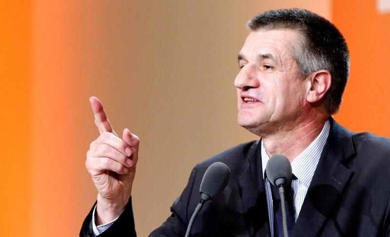 Präsidentschaftswahl in Frankreich - Jean Lassalle