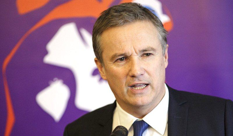 Wahl des Präsidenten in Frankreich - Nicolas Dupont-Aignan
