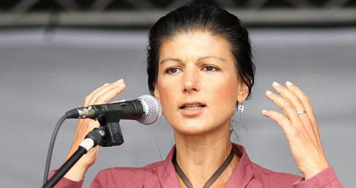 Sahra Wagenknecht, Spitzenkandidaten für die Linke