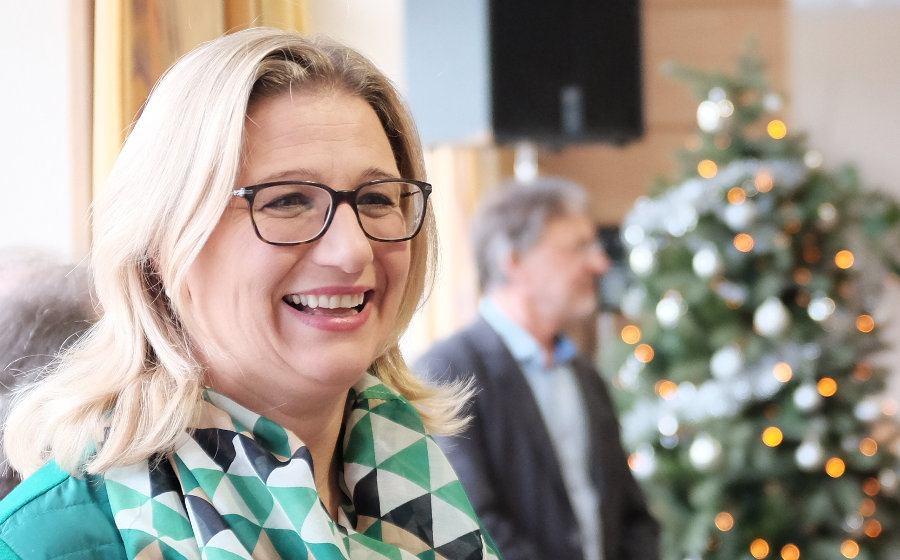 Anke Rehlinger, KAndidatin für die SPD bei der Landtagswahl 2017 im Saarland