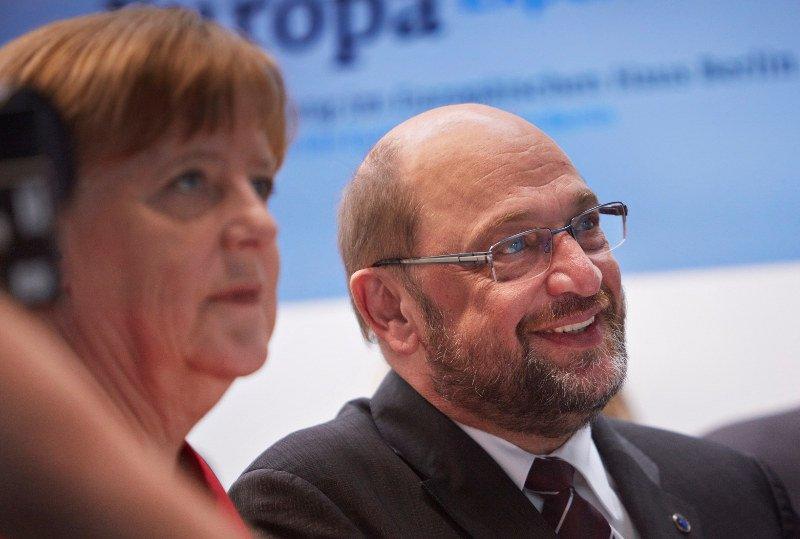 Angela Merkel und Martin Schulz - Wer gewinnt die Bundestagswahl?