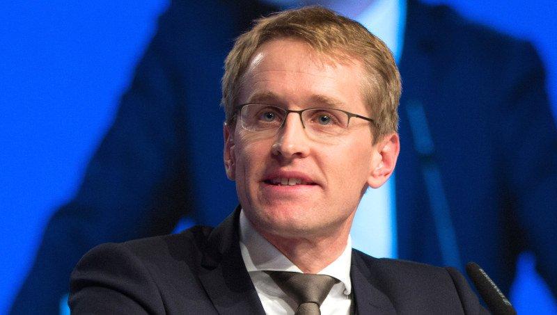 Daniel Gunther, Ministerpräsident nach der Landtagswahl in SH