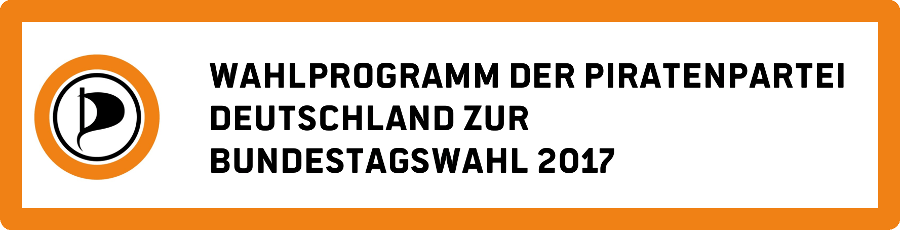 Programm der Piraten für die Bundestagswahl 2017
