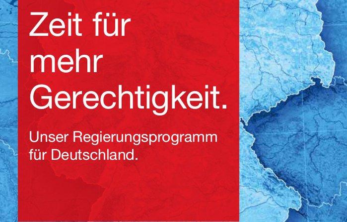 Wahlprogramm der SPD