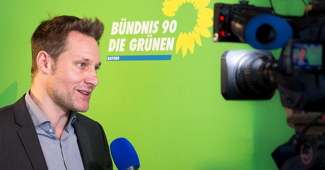 Landtagswahl in Bayern - Ludwig Hartmann, Kandidat der Grünen
