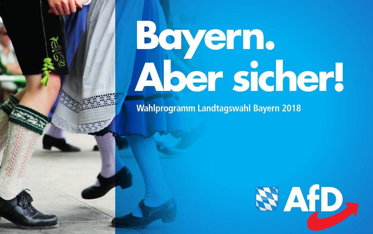 Wahlprogramm der AfD für die LTW 2018 in Bayern