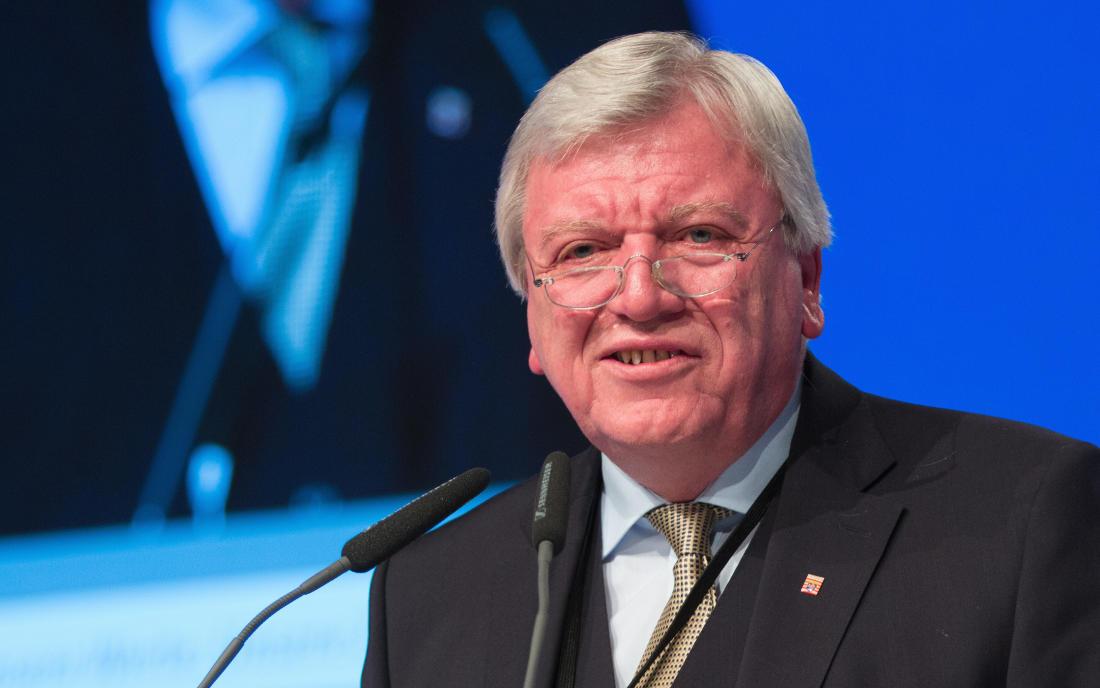 Landtagswahl 2018 in Hessen – Volker Bouffier – Ministerpräsident und Spitzenkandidat der CDU