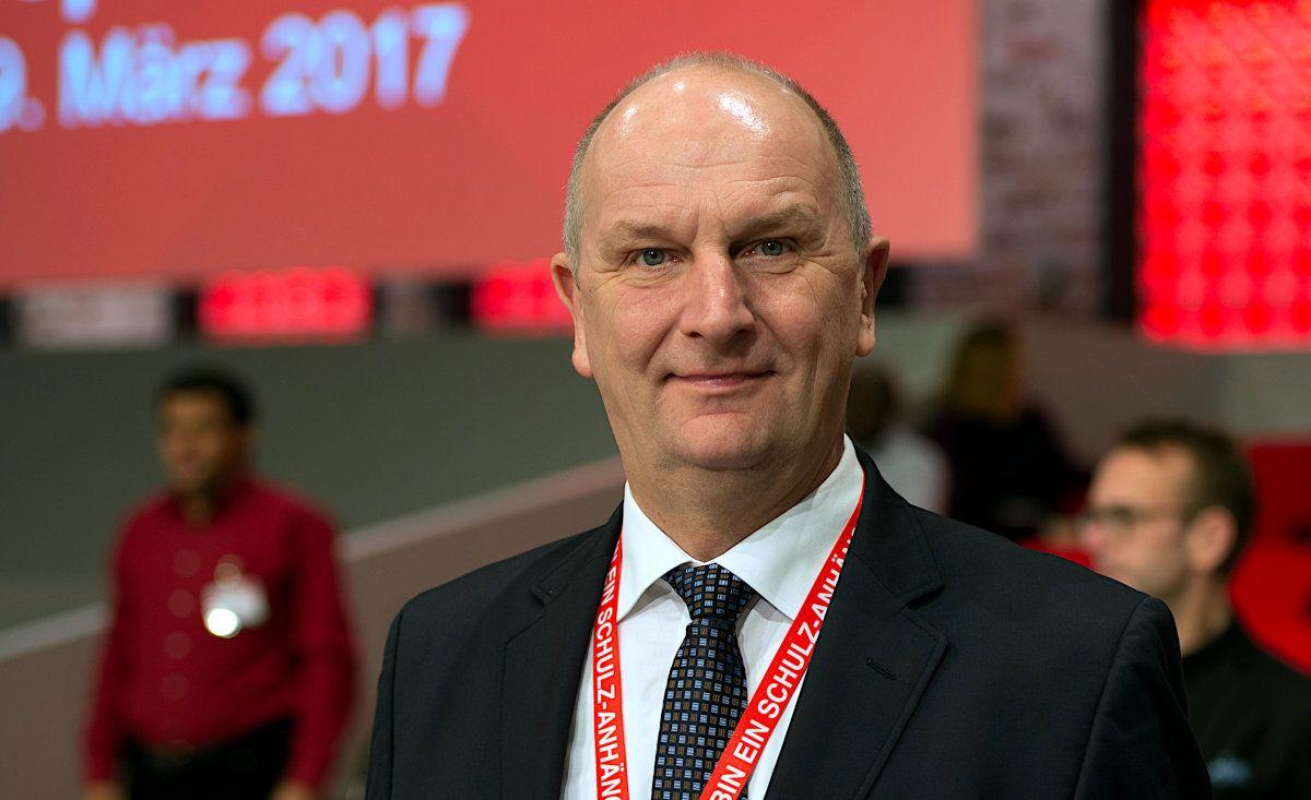 Dietmar Woidke Kandidat der SPD bei der Landtagswahl in Brandenburg