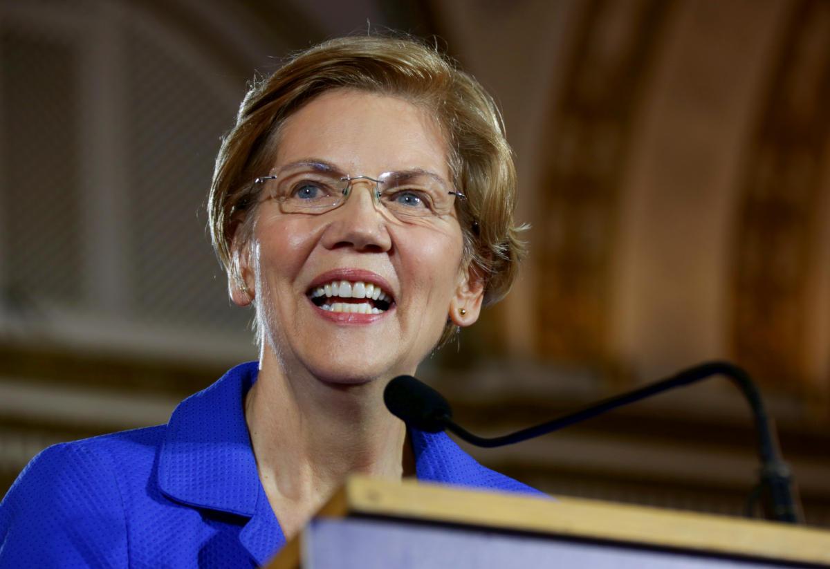 US-Wahl 2020 - Kandidat der Demokraten Elisabeth Warren