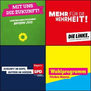 Wahlprogramme für die Bundestagswahl